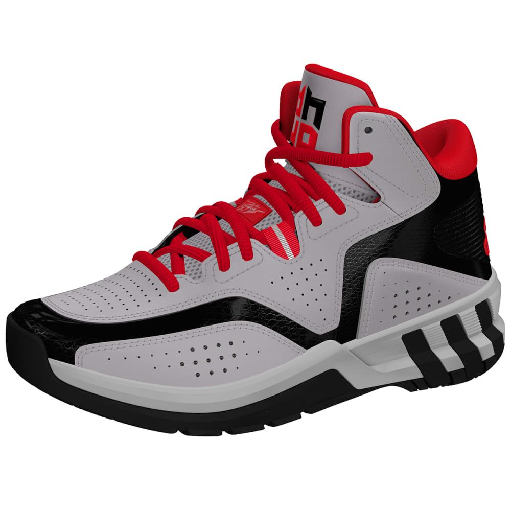 ADIDAS Boys' D Howard 6 Basketball Sneakers - GRANITE HEATHER/OXFO
