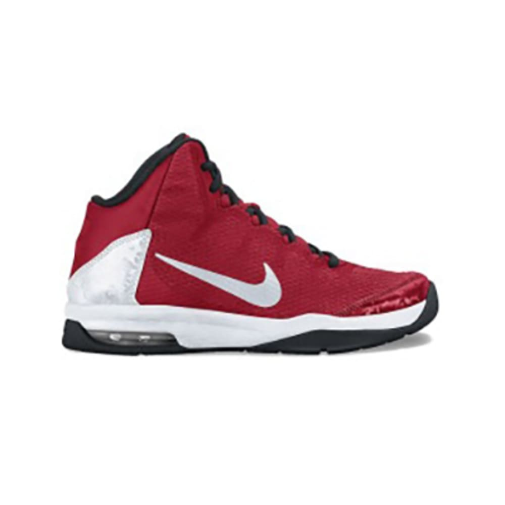 NIKE Boys' Air Without A Doubt Basketball Shoes - RED