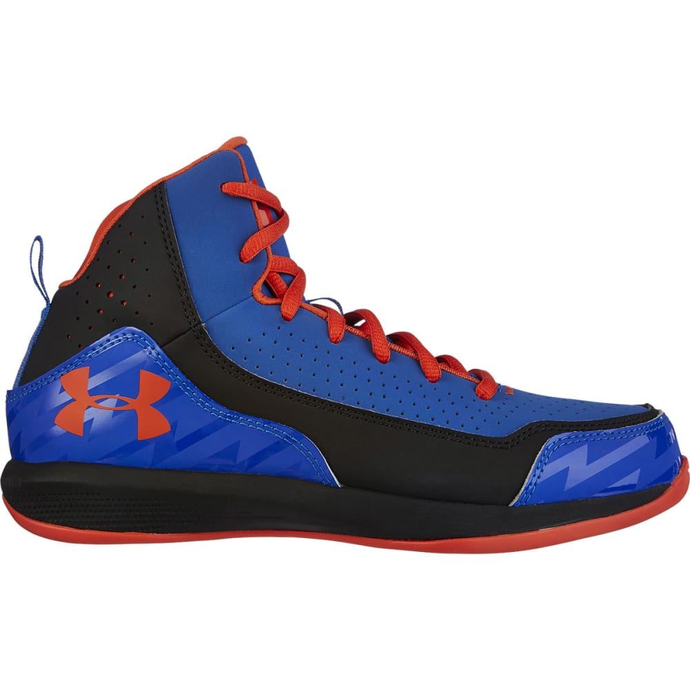 UNDER ARMOUR Boys' Jet 2 Grade School Basketball Shoes - BLACK