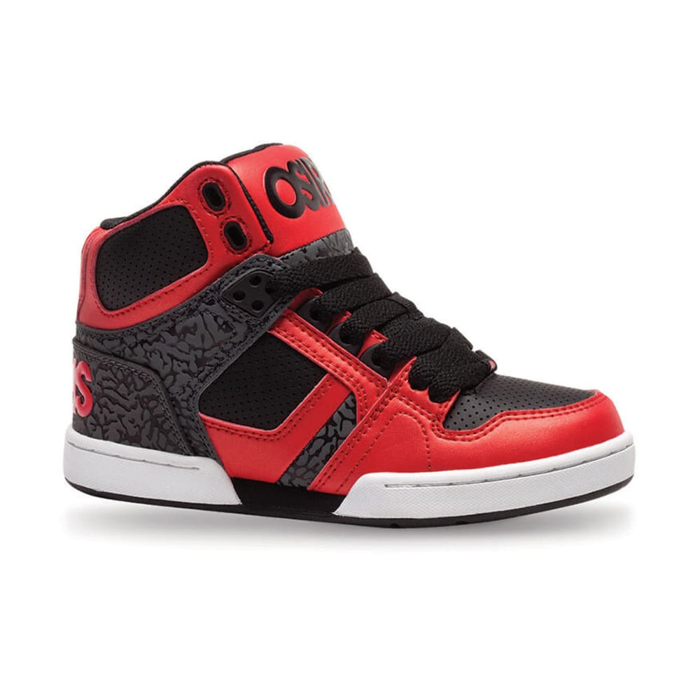 OSIRIS Boys NYC 83 Red/Black 1-6 - RED/BLACK