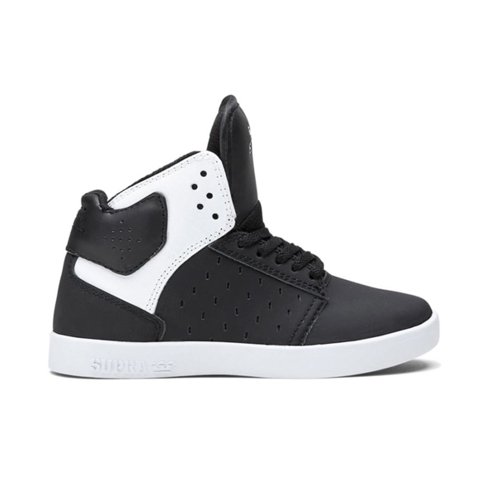 SUPRA Boys' Atom, 3.5-6 - GREY/BLACK