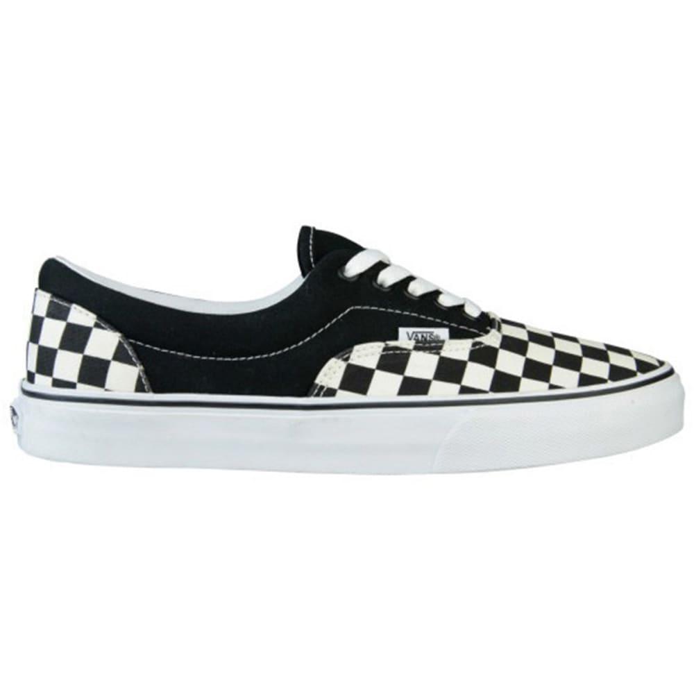 VANS Boys' Era Shoes, Checkerboard, 3.5-6 - BLACK CHECK
