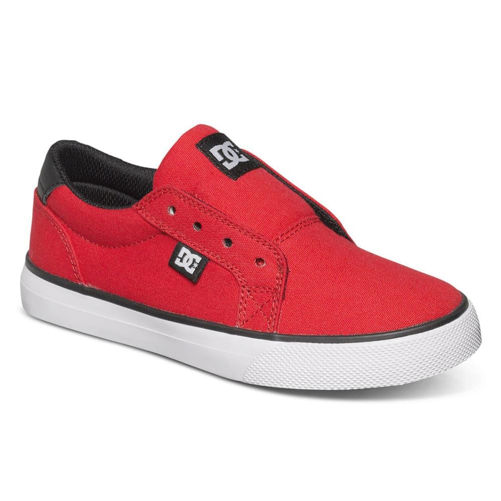 DC SHOES Boys' Council Slip TX Shoes - RED