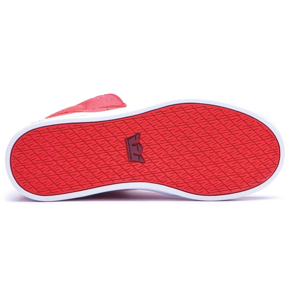 SUPRA Boys' Atom Shoes - RED/WHITE