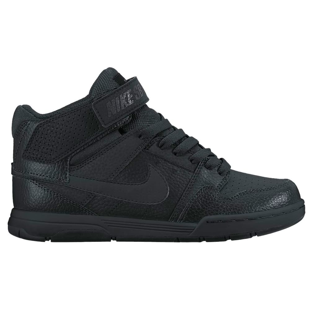 NIKE Boy's Nike SB Mogan Mid 2 Jr Shoes - BLACK