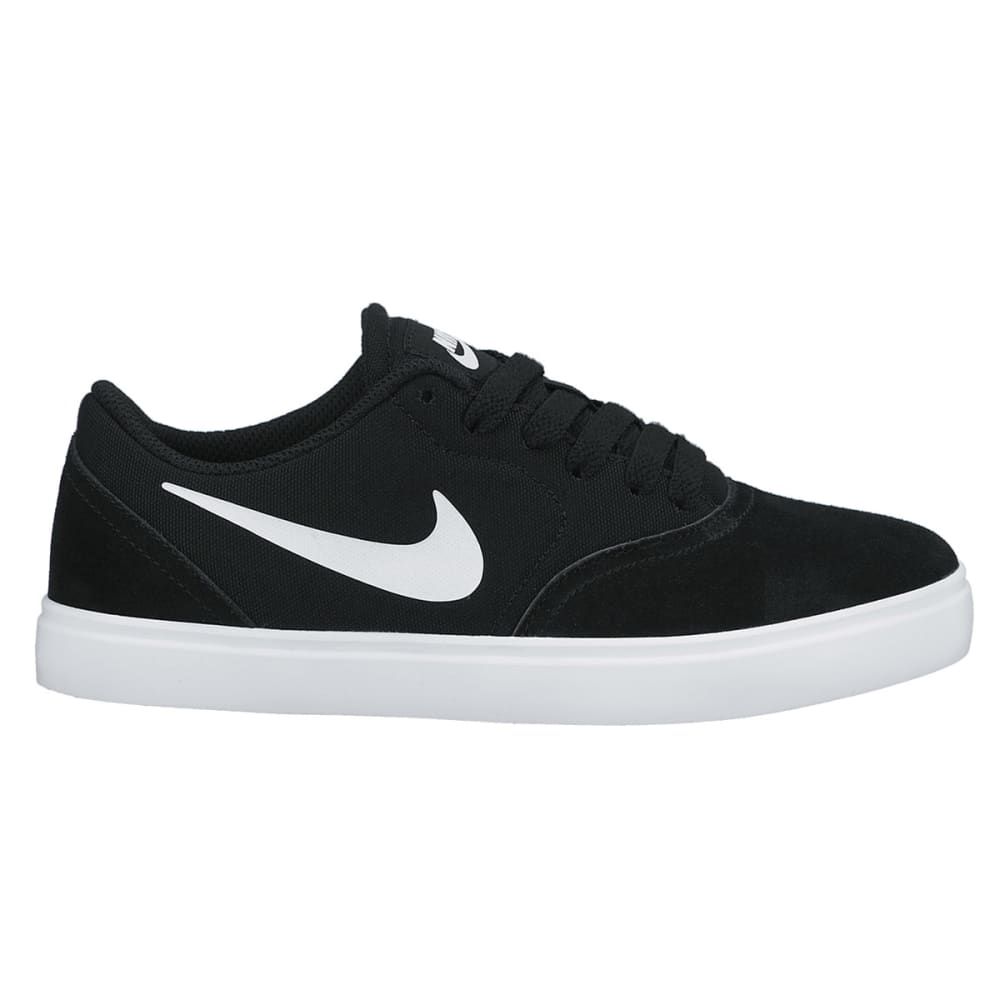 NIKE SB Boys' Check Canvas Shoe - ONYX