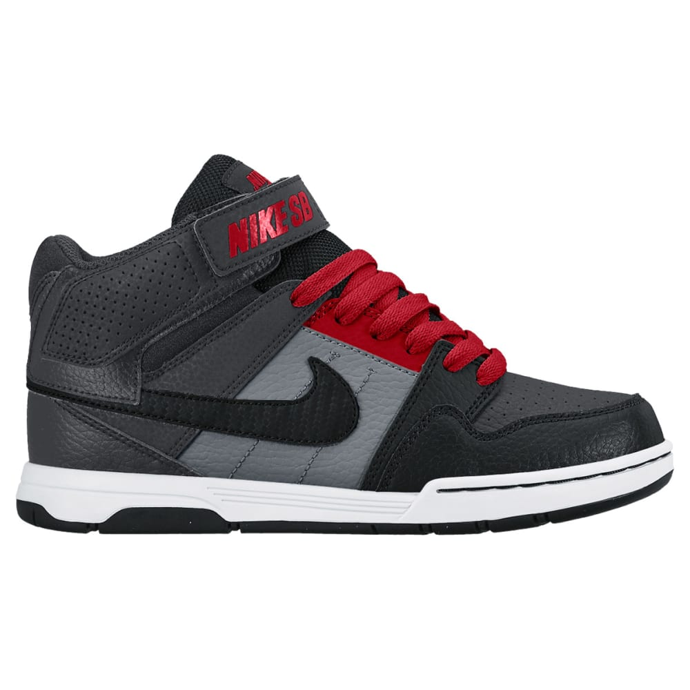NIKE SB Boys' Morgan Mid II Skate Shoes - ONYX