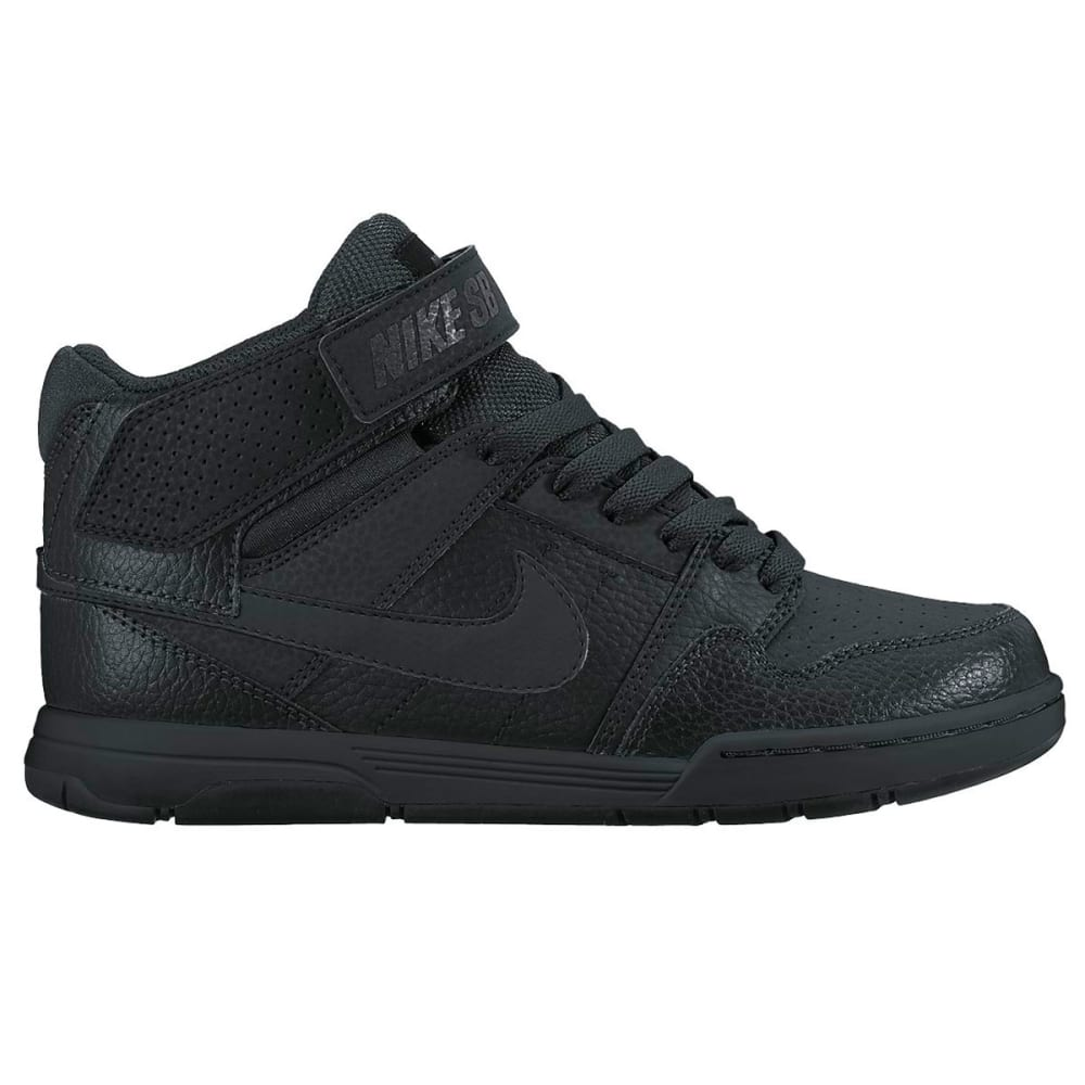NIKE Boys' NIKE SB Mogan Mid 2 Jr Shoes - BLACK