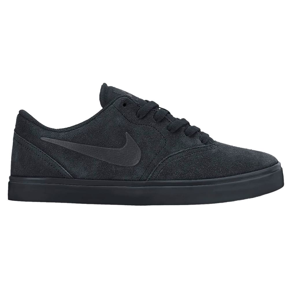 NIKE SB Boys' Check Shoes - BLACK/ANTHRACITE