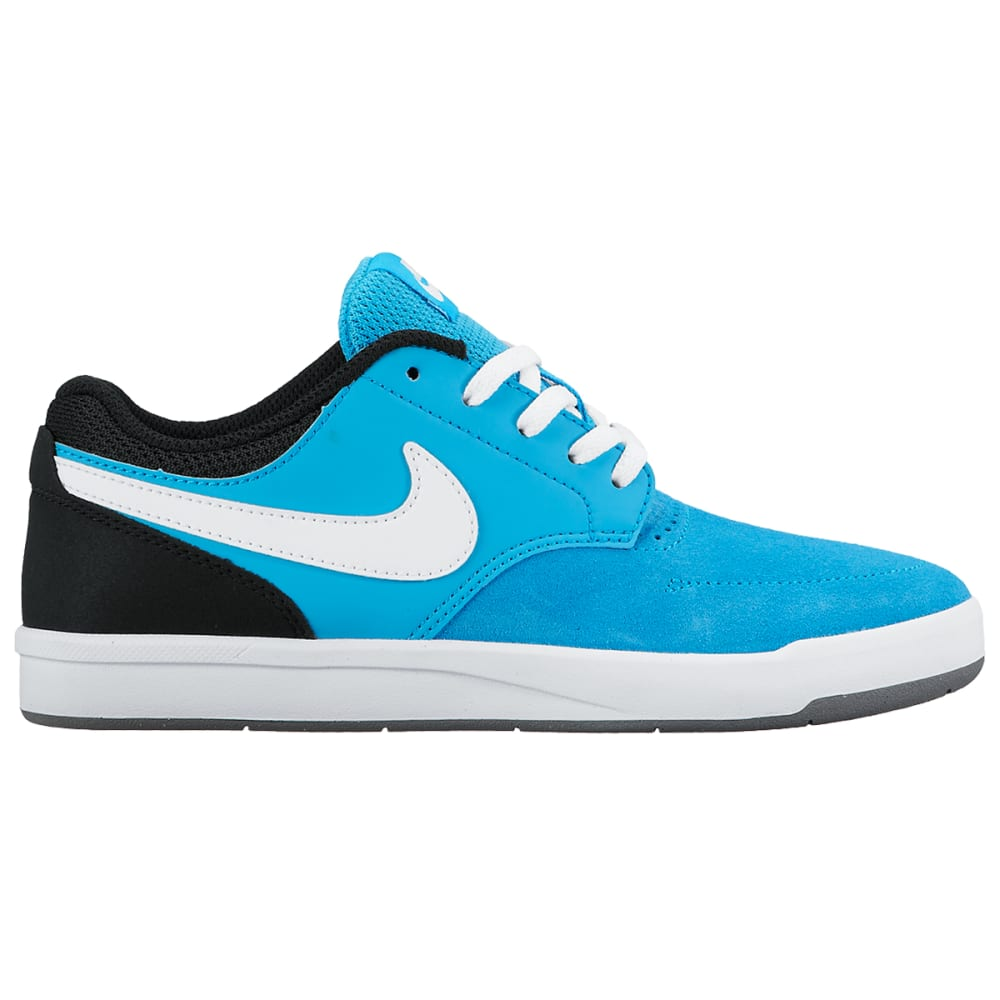NIKE Kids' SB Fokus Skate Shoes - MEDIUM BLUE