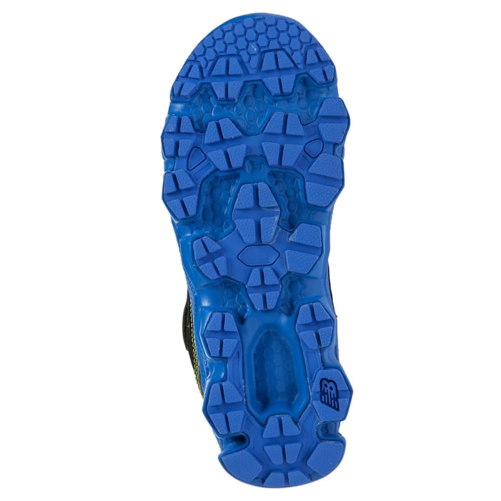 NEW BALANCE Boys' KV750 Shoes, Medium, 11-13, 1-3 - BLACK/BLUE