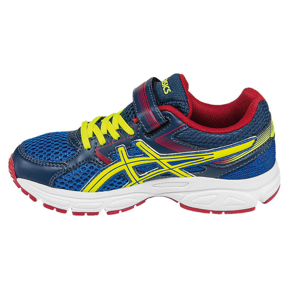ASICS Boys' Pre-Contend 3 Preschool Running Shoes - ROYAL/FLASH YELLOW