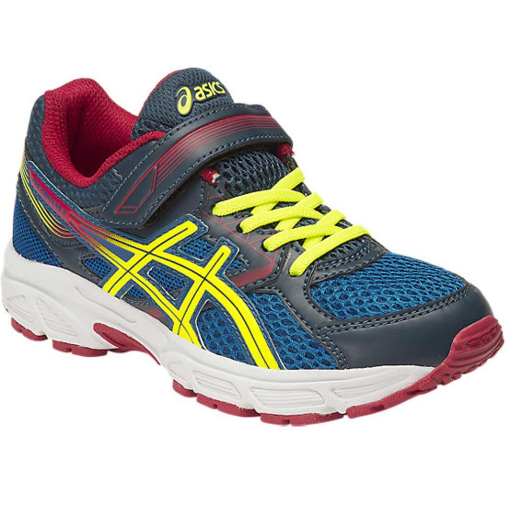ASICS Boys' Pre-Contend 3 Preschool Running Shoes - ROYAL/FLASH YELLOW