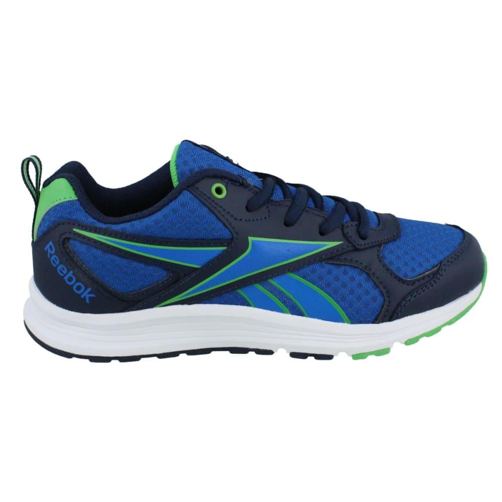 REEBOK Boys' Almotio RS Collegiate Sneakers - NAVY/GREEN