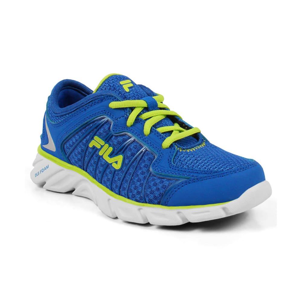 FILA Boys' Radical Lite 2 Shoes, 3.5-7 - BLUE/WHITE
