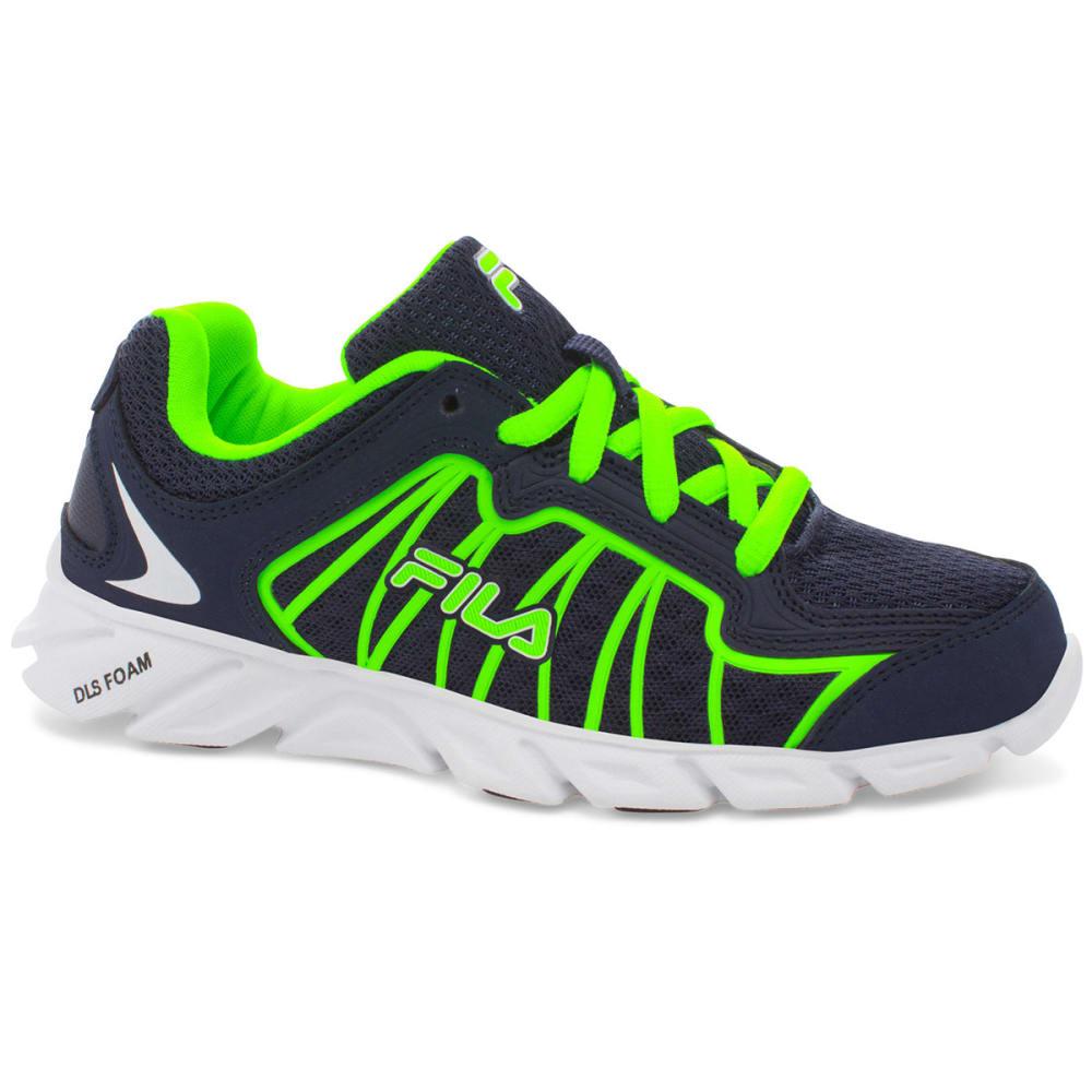 FILA Boys' Radical Lite 2 Running Shoes - NAVY