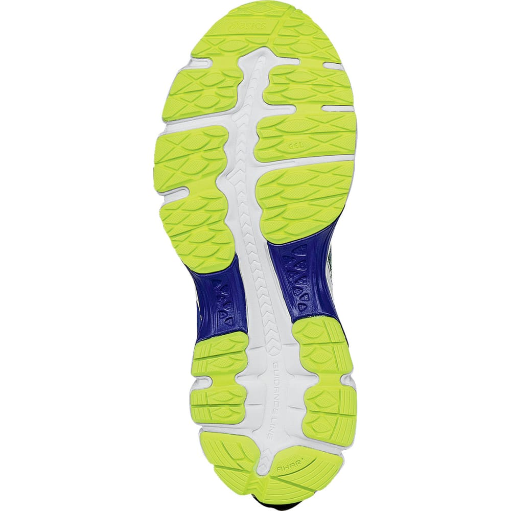 ASICS Boys' GEL-Nimbus 18 Running Shoes - BLUE/WHITE/YELLOW