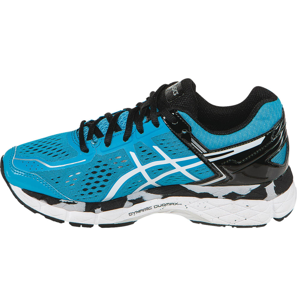 ASICS Boys' GEL-Kayano 22 Running Shoes - TURQUOISE/BLACK