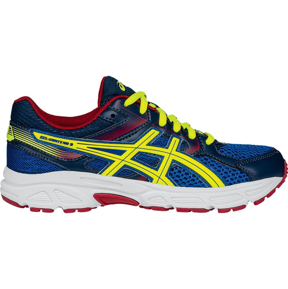 ASICS Boys' Gel-Contend 3 Gradeschool Running Shoes - ROYAL/FLASH YELLOW
