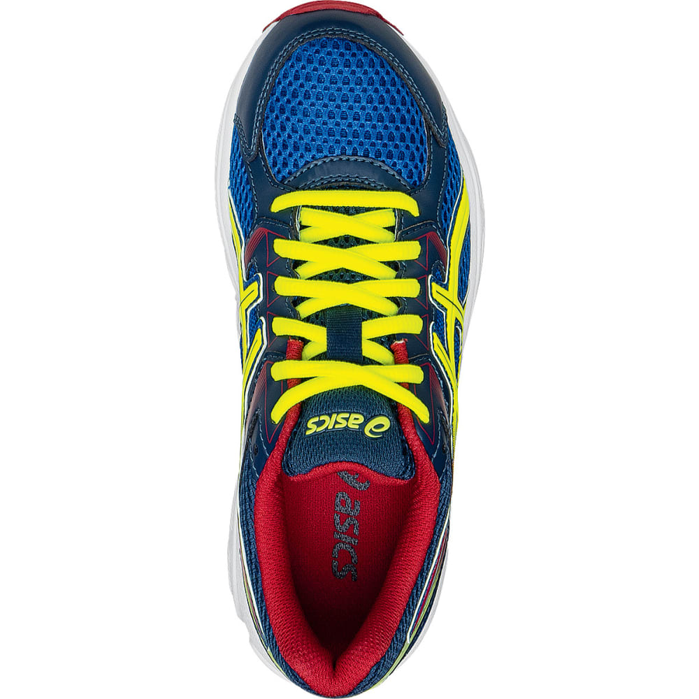 ASICS Boys' Gel-Contend 3 Gradeschool Running Shoes - ROYAL/FLASH YELLOW