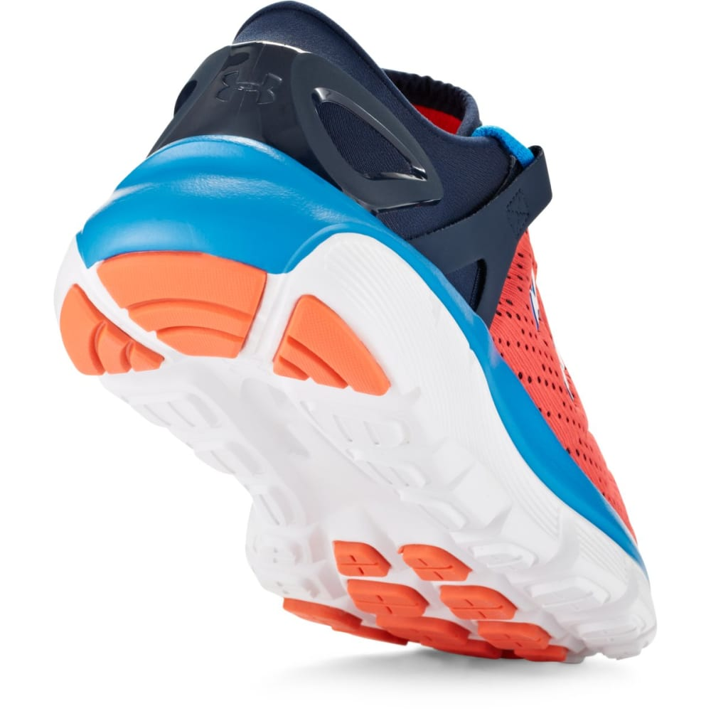 UNDER ARMOUR Boys' SpeedForm® Fortis Running Shoes - FLO ORANGE