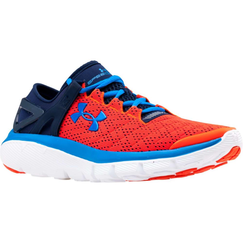 UNDER ARMOUR Boys' SpeedForm® Fortis Running Shoes - FLO ORANGE