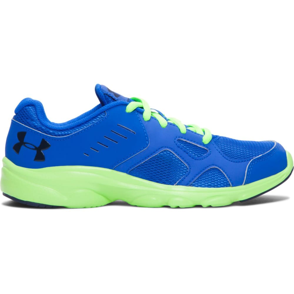 UNDER ARMOUR Boys' Pace Running Shoes - ULTRA BLUE