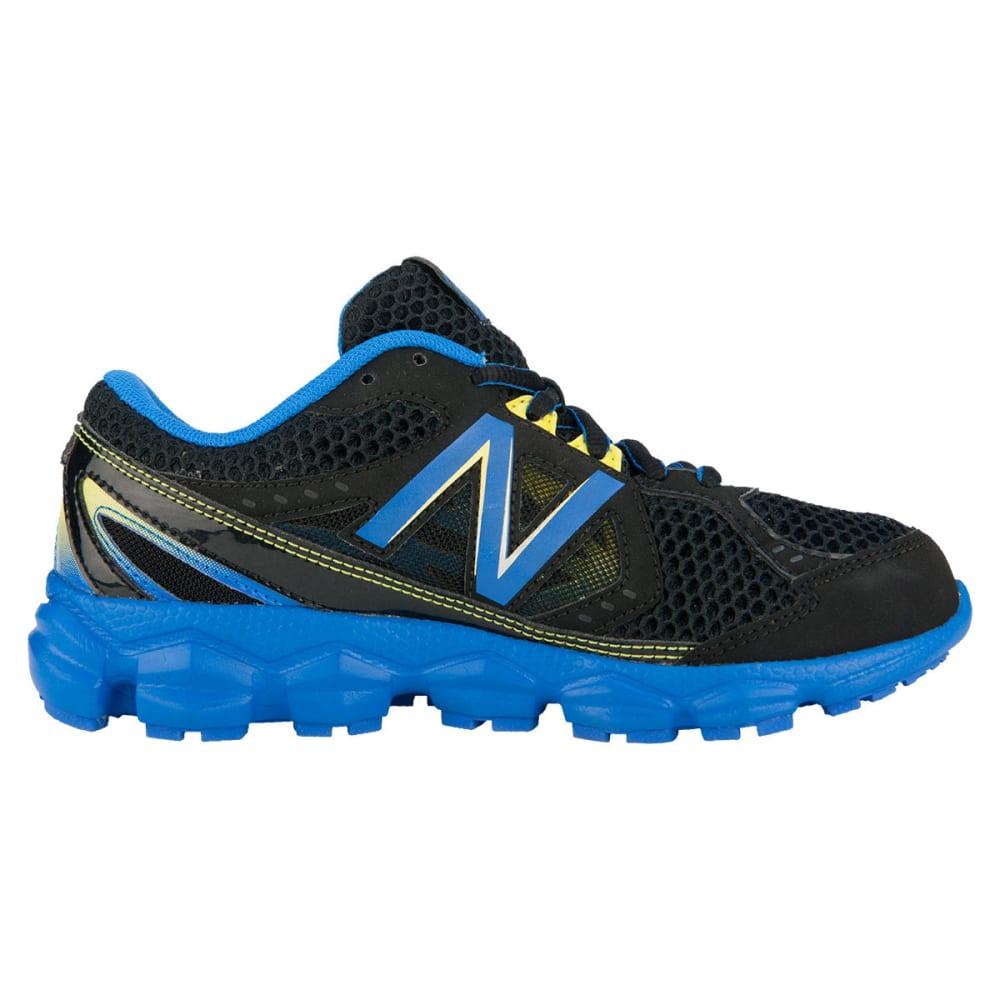 NEW BALANCE Boys' 750v3 Running Shoes, Wide, 3.5-7 - BLACK/BLUE