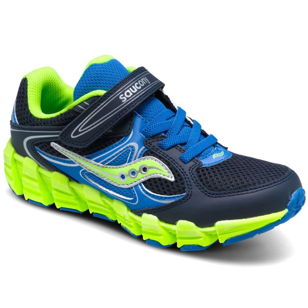 SAUCONY Boys' Kotaro Alternative Closure Sneakers, Wide Width - ROYAL BLUE