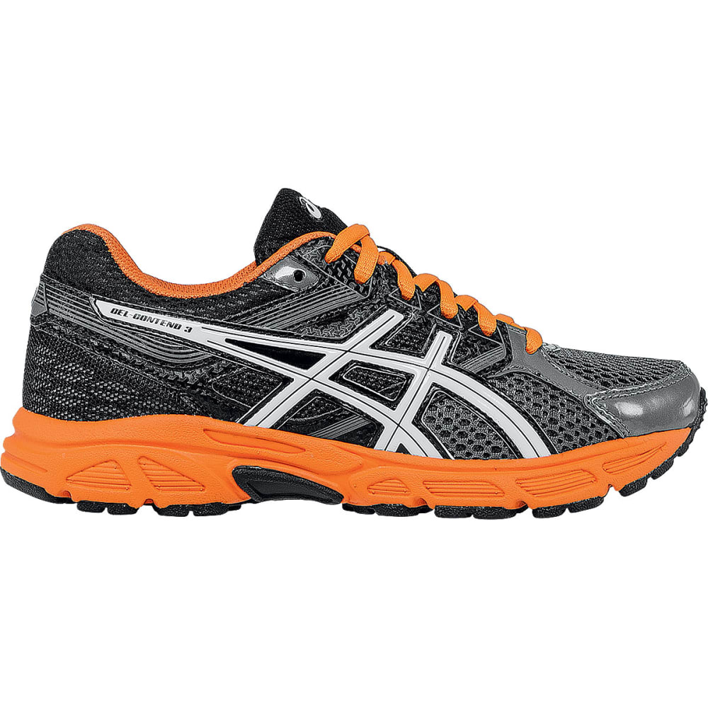 ASICS Boy's Gel Contend™ 3 Sneakers, Wide - DK GRAY