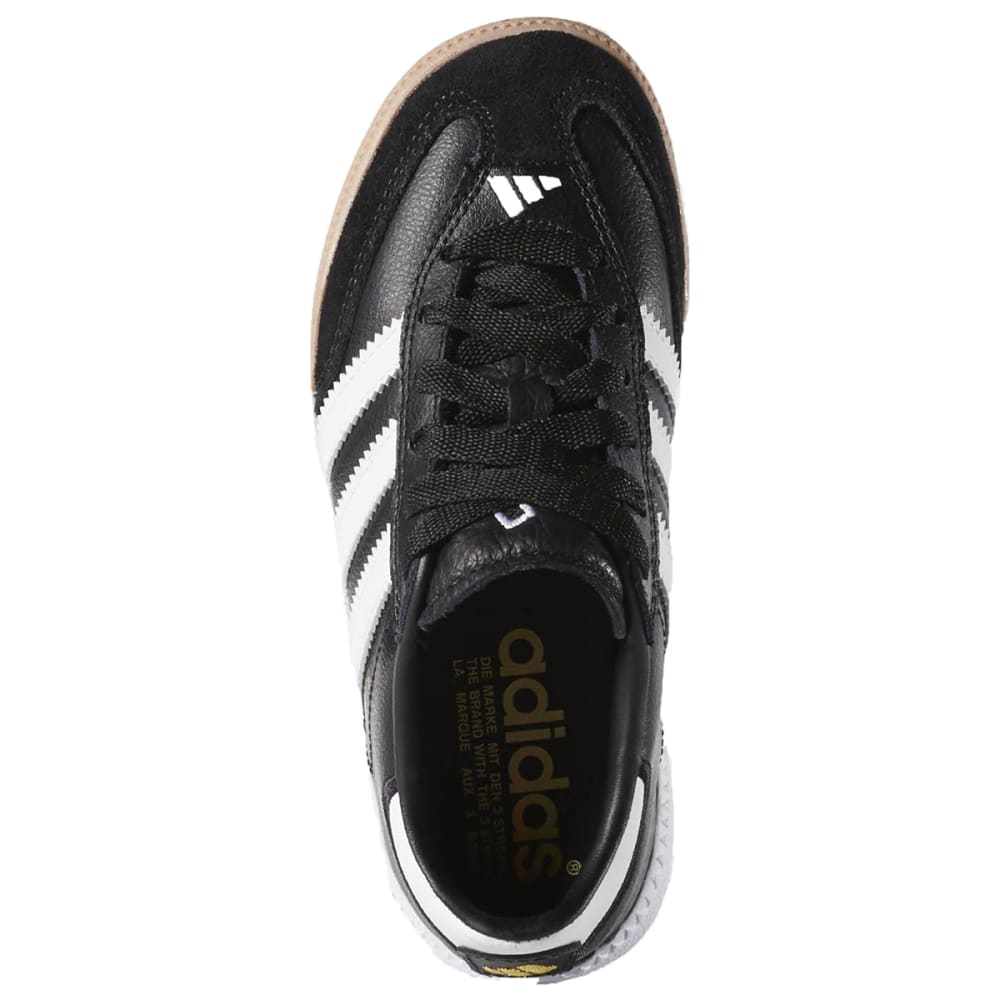 ADIDAS Kids' Samba Millenium Soccer Shoes - BLACK