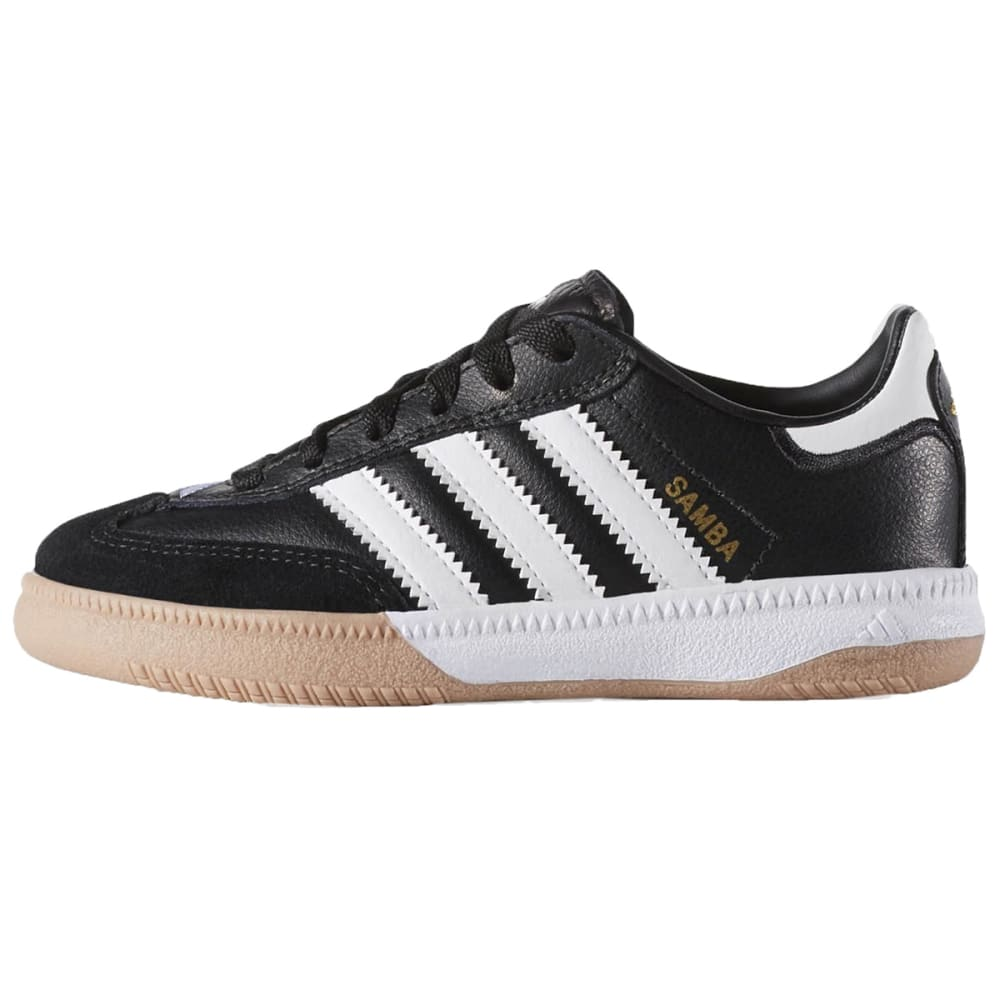 Adidas Kids Samba Millenium Soccer Shoes - Black, 2