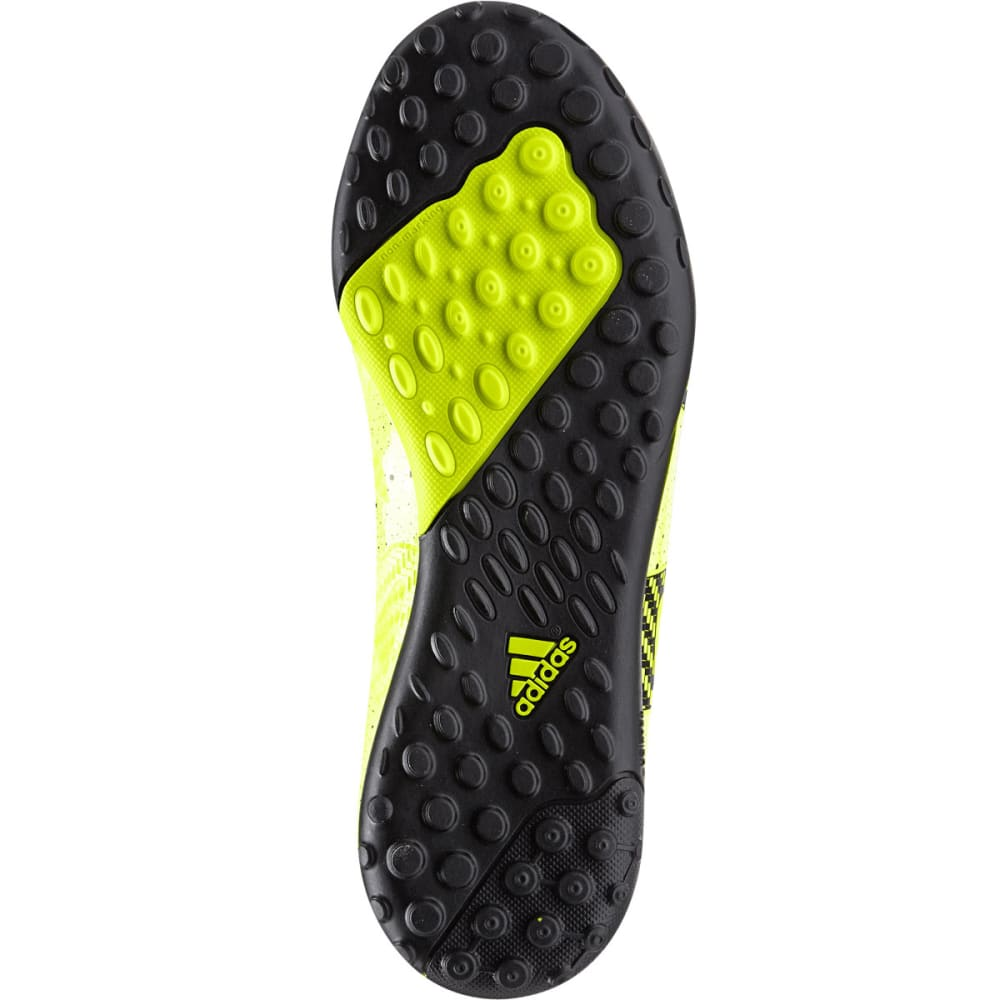 ADIDAS Boys' X15.4 TF Indoor Soccer Cleats - SOLAR YELLOW