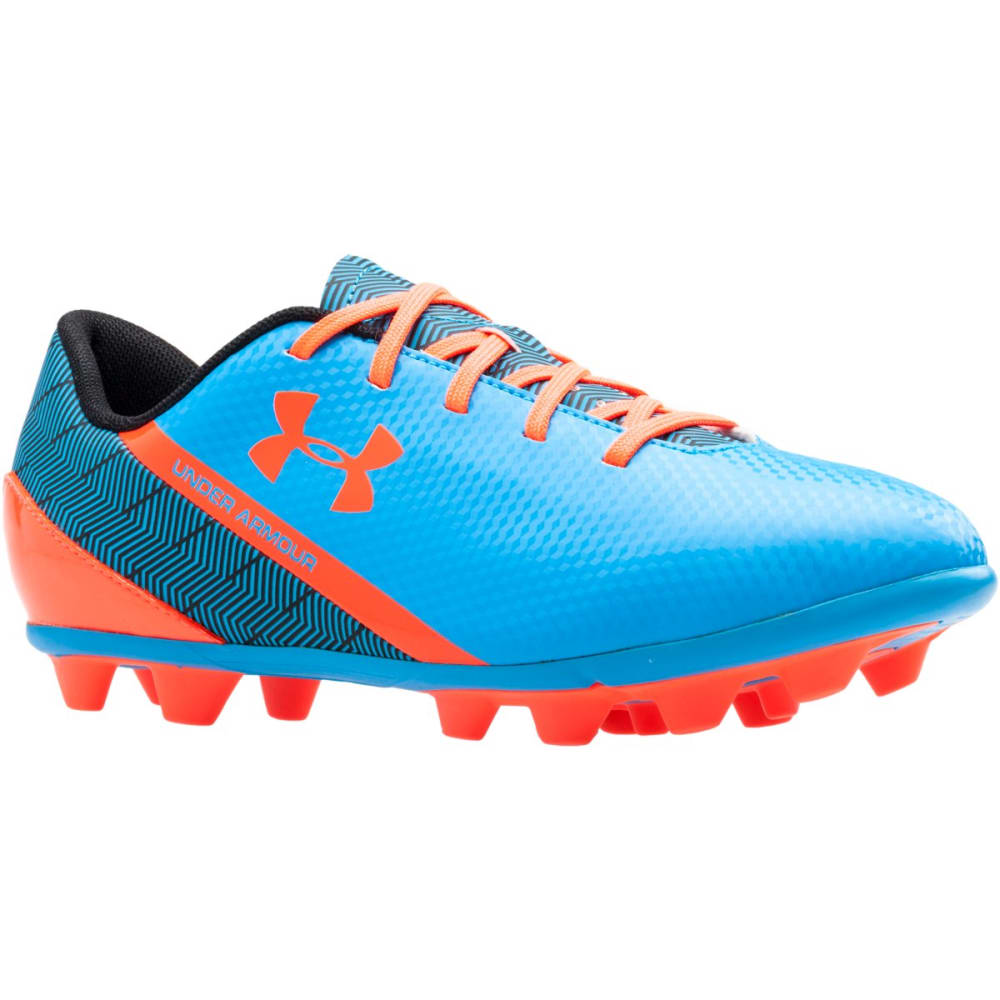 UNDER ARMOUR Kids' UA Flash HG Jr. Soccer Cleats - ZAFFRE LINE METER