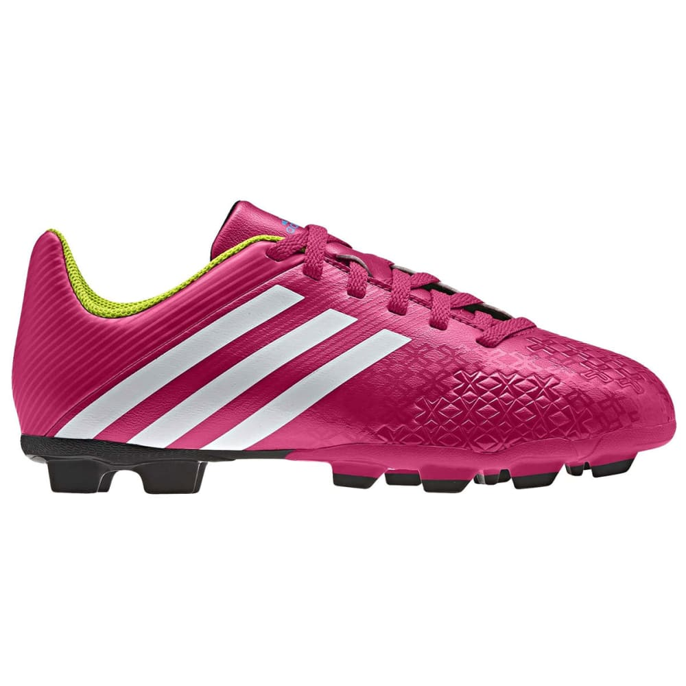 ADIDAS Kids' Predito LZ TRX FG Soccer Cleats  VALUE DEAL - BERRY/WHITE/SLIME