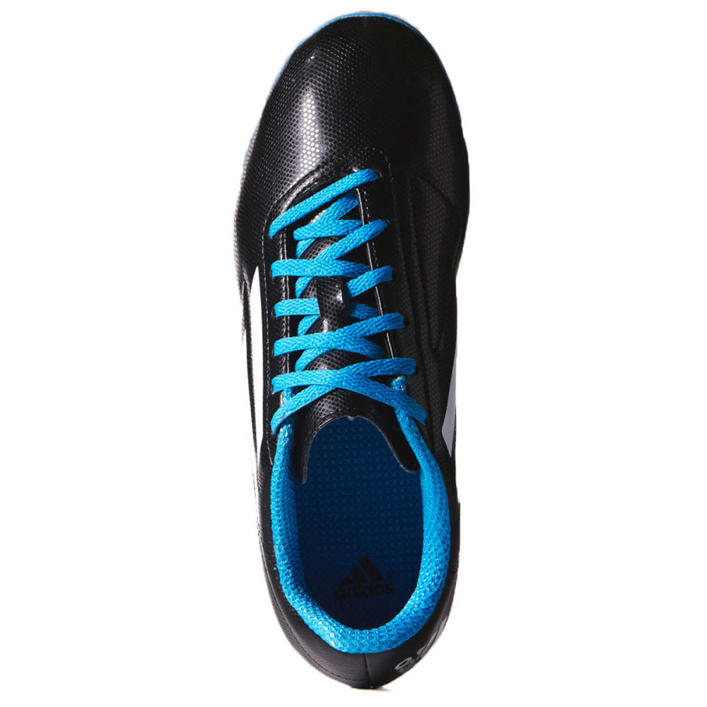 ADIDAS Youth Conquisto FG Soccer Cleats - BLK/BLU 1-6 - B25593