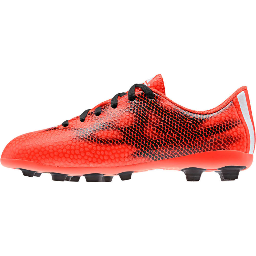 ADIDAS Youth F5 FXG Soccer Cleats - RED/BLACK/WHITE