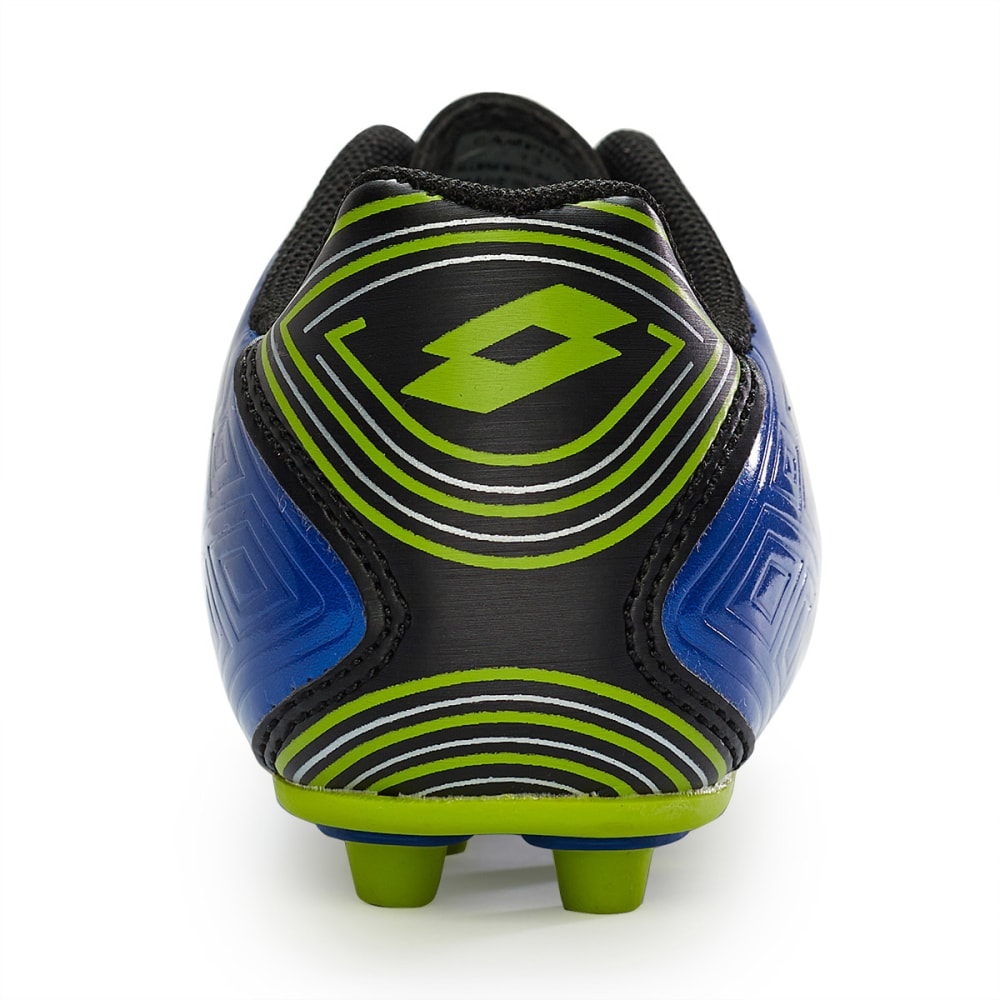 LOTTO Kids' Campione Soccer Cleats - BLUE/GREEN 3.5-6