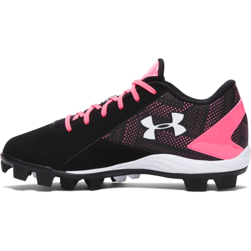 UNDER ARMOUR Youth Leadoff Low RM - GIRLS' BLACK/PINK
