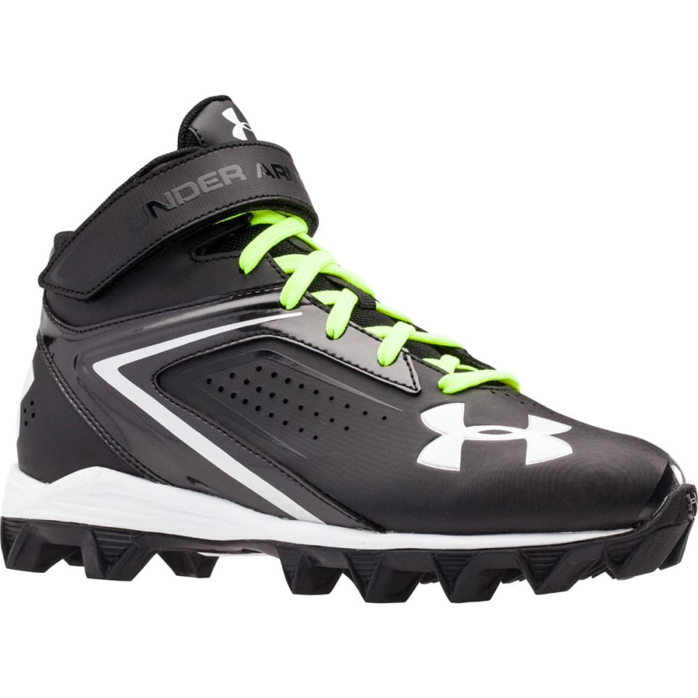 UNDER ARMOUR Boys' Crusher RM Football Cleats - BLACK