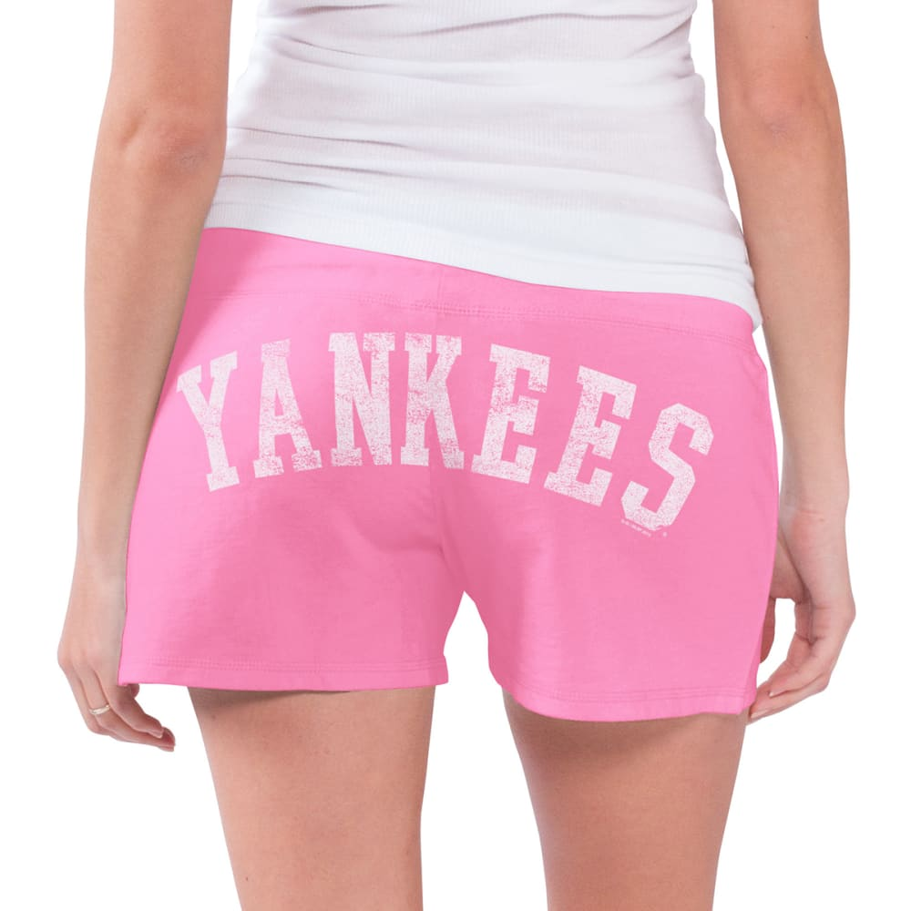 NEW YORK YANKEES Women's Grand Slam Shorts - PINK