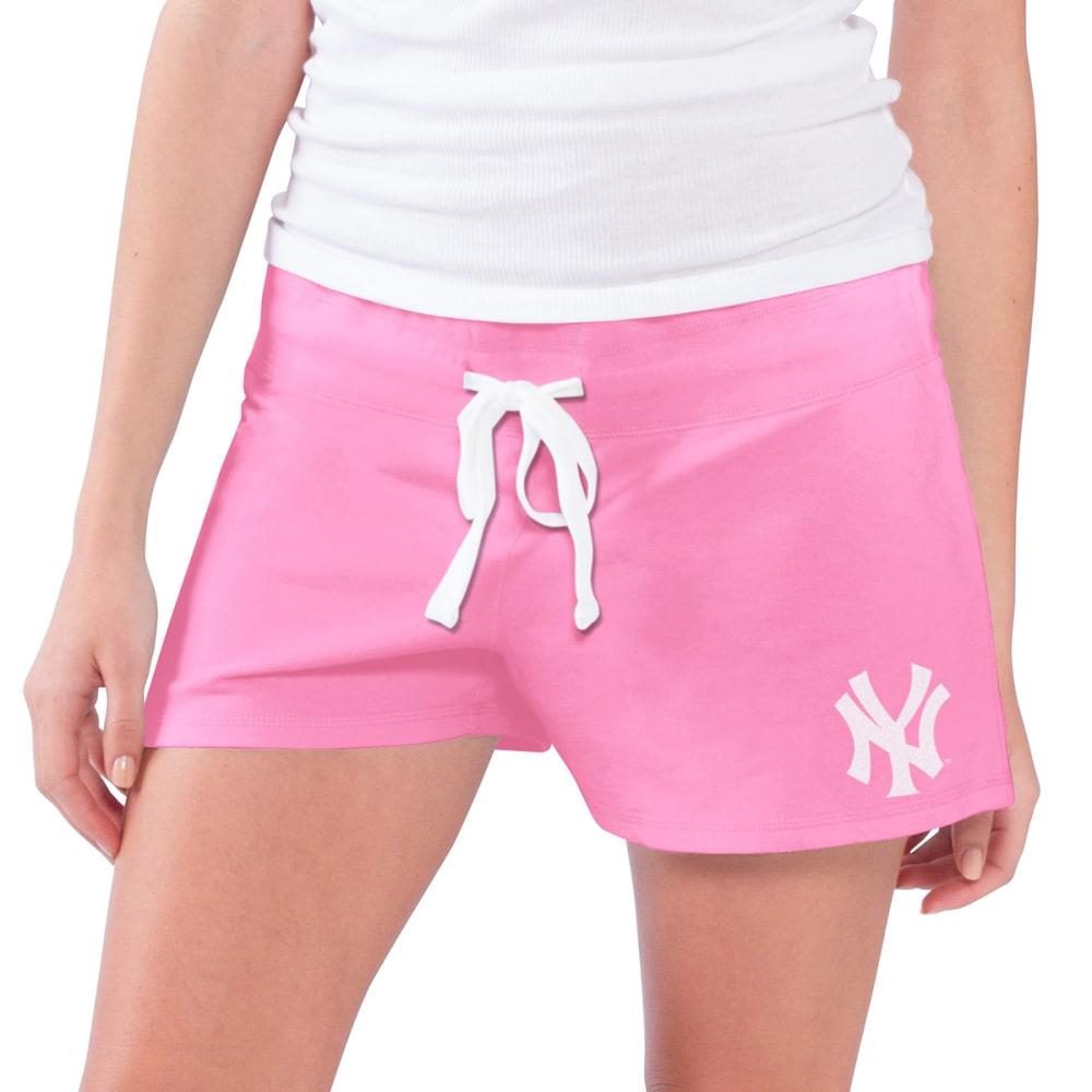 NEW YORK YANKEES Women's Grand Slam Shorts - PINK