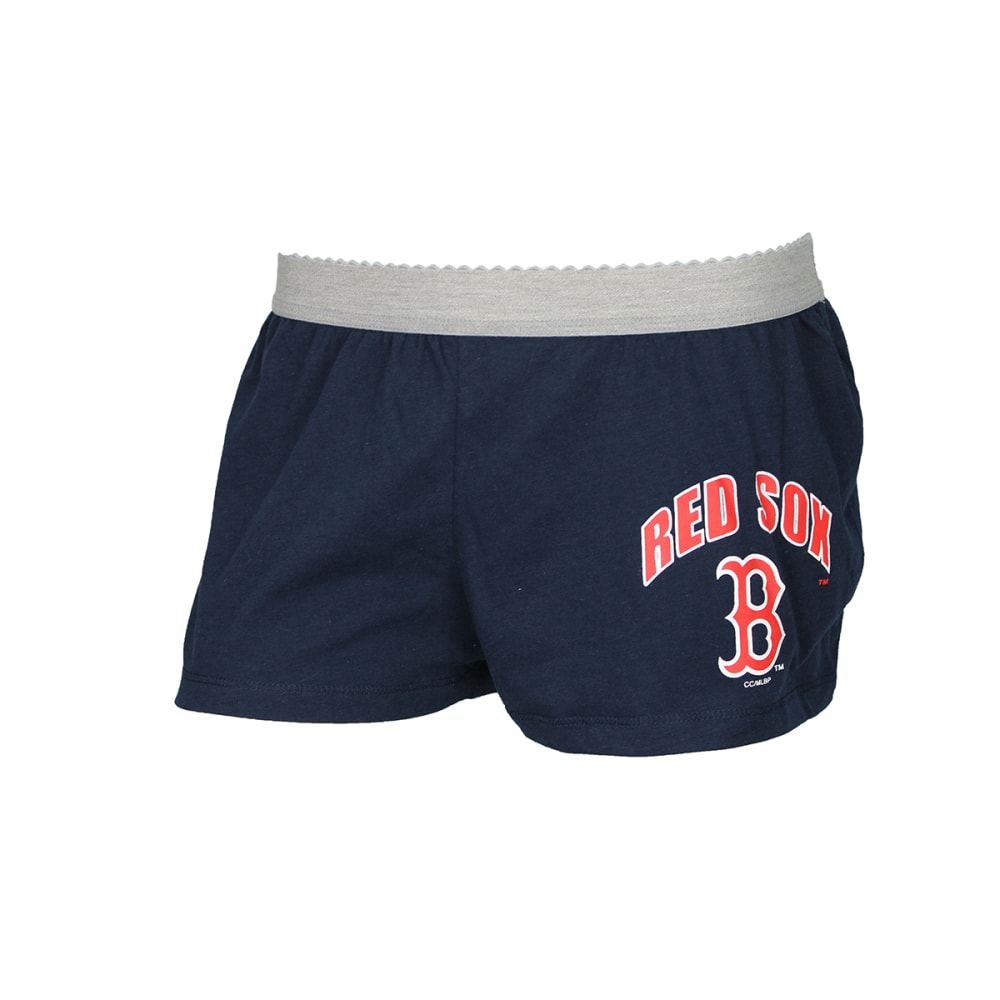 BOSTON RED SOX Women's Fusion Shorts - NAVY