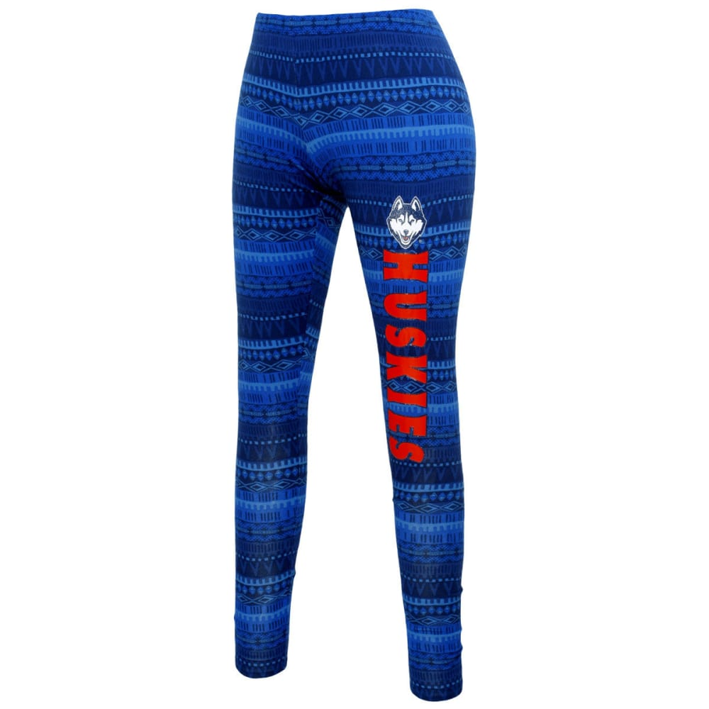 UCONN HUSKIES Women's Aztec Leggings - MULTI