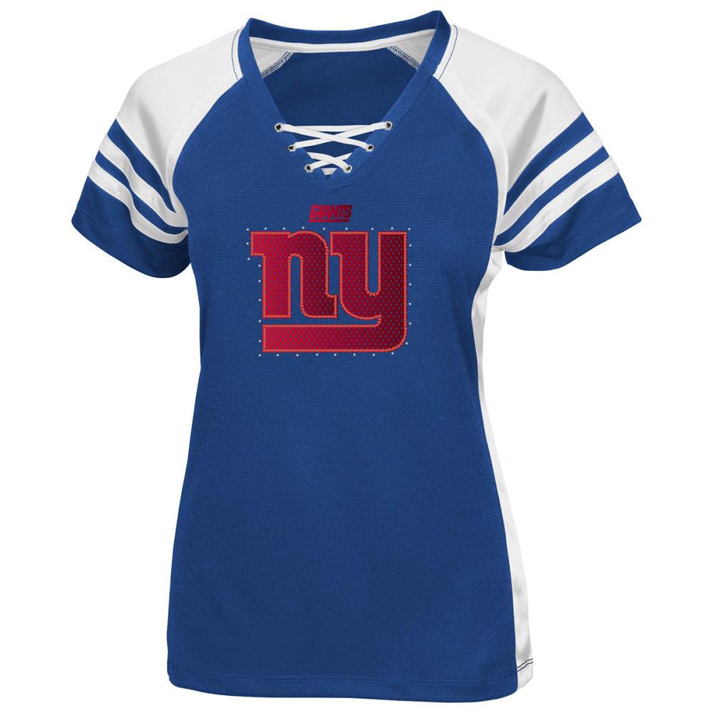 NEW YORK GIANTS Women's Draft Me Jersey Top - MULTI