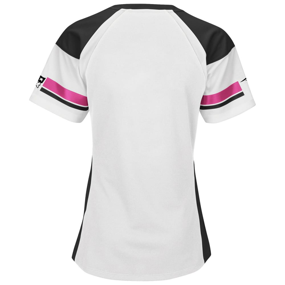 NEW ENGLAND PATRIOTS Women's Draft Me Jersey - PINK