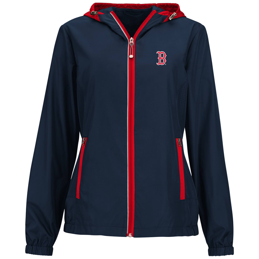 BOSTON RED SOX Women's Prime Time Full-Zip Jacket - RED SOX