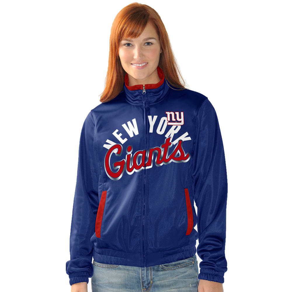 NEW YORK GIANTS Women's Star Club Track Jacket - 1371723