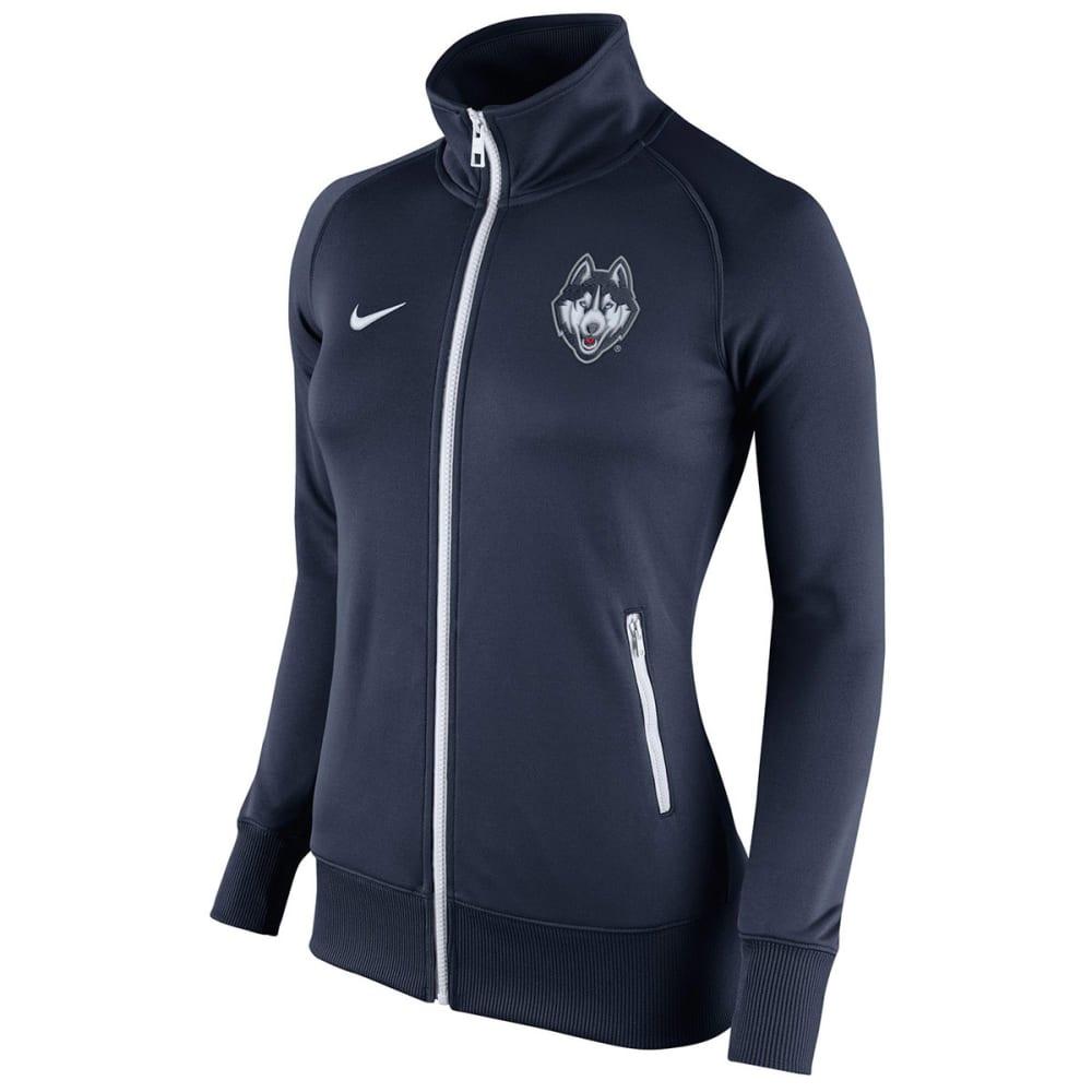 NIKE Women's UConn Stadium Classic Track Jacket - NAVY