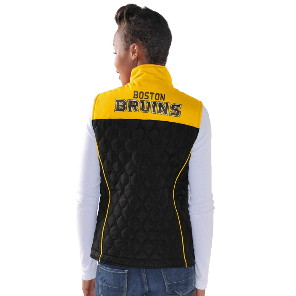 BOSTON BRUINS Women's Chalk Talk Vest - BLACK